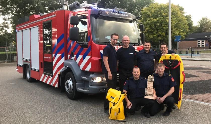 (foto: Brandweer Barendrecht)