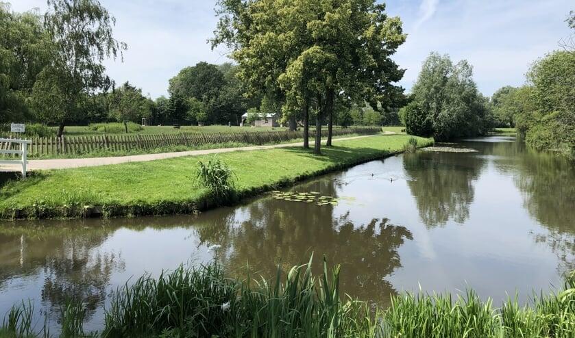 Park van Rhoon in het najaar van 2019.