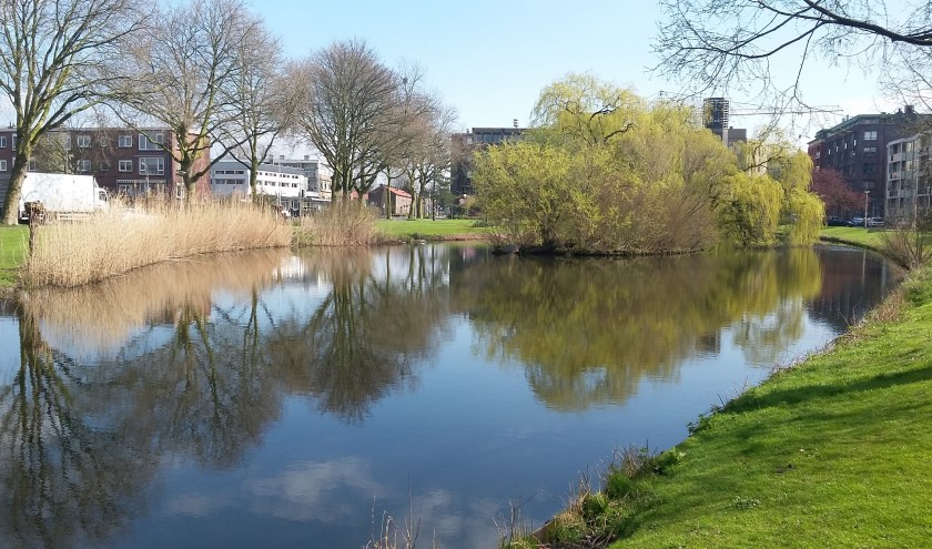 De Rembrandtsingel vervult een belangrijke rol in ons watersysteem