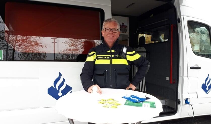 Wijkagent Jan Waasdorp.