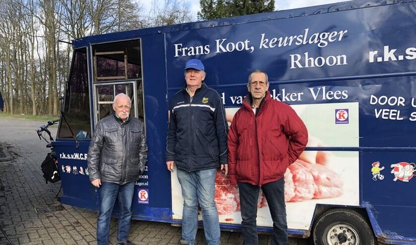 Neem Wesdorp, Jaap de Raadt en Jan van de Griend.