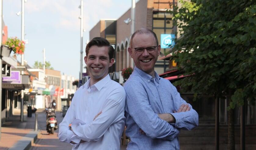 Florian Pronk en Sebastiaan van Mill.
