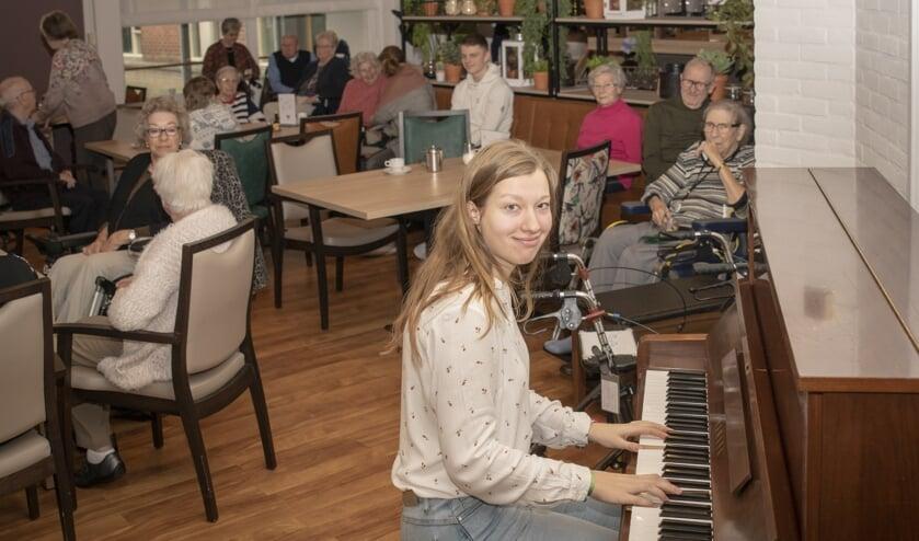 Roos Doller speelt in Borgstede.