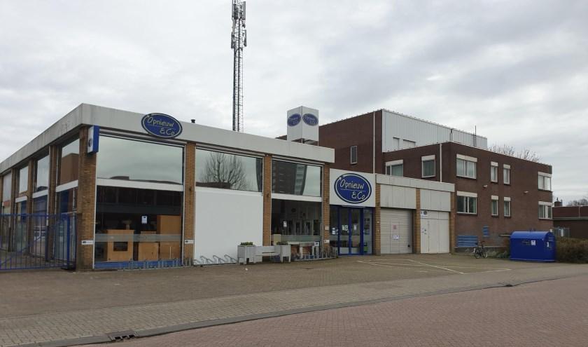 De deuren van Opnieuw & Co in Ridderkerk zijn dicht