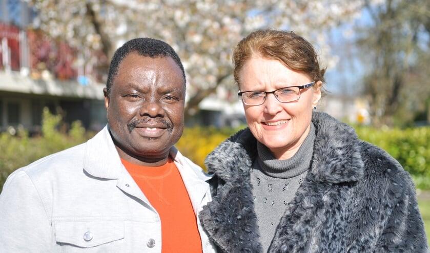 Joseph Matheka Munyasya en zijn vrouw Ria.