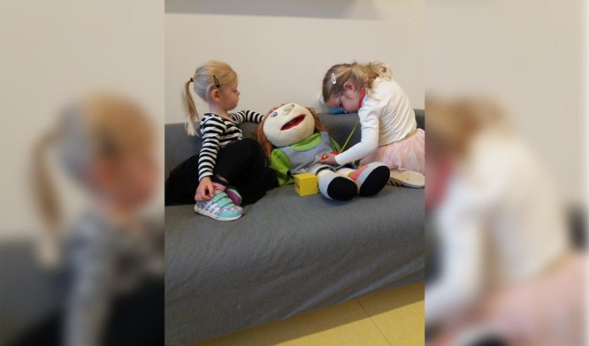 Heerlijk spelen op peuterspeelzaal De Speeldoos.