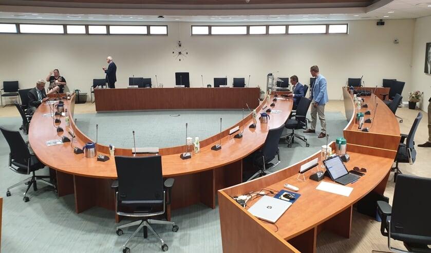 De gemeenteraad vergaderde dinsdag in het gemeentehuis.
