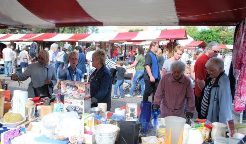 Op zaterdag 12 september is er weer een rommelmarkt van de Stichting Wijkactiviteiten Slikkerveer