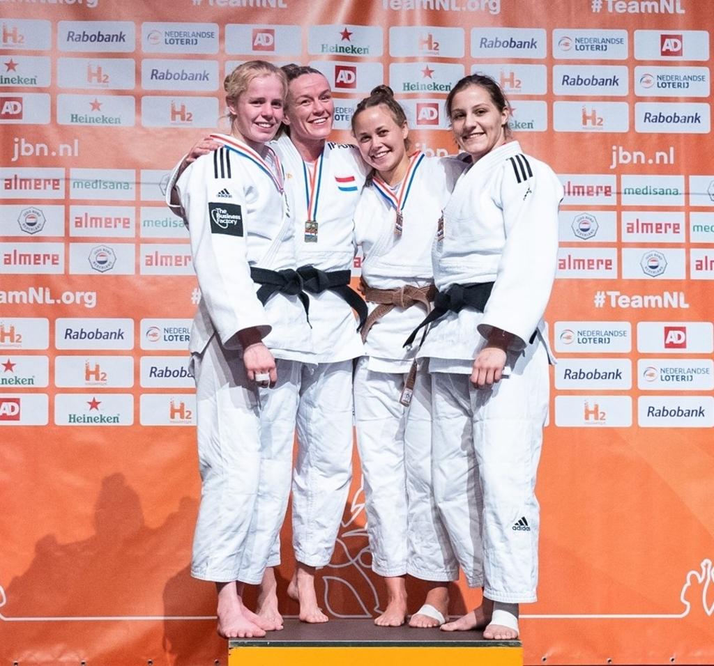 Naomi werd derde bij het NK in Almere. Foto:  © BAR Lokale Media