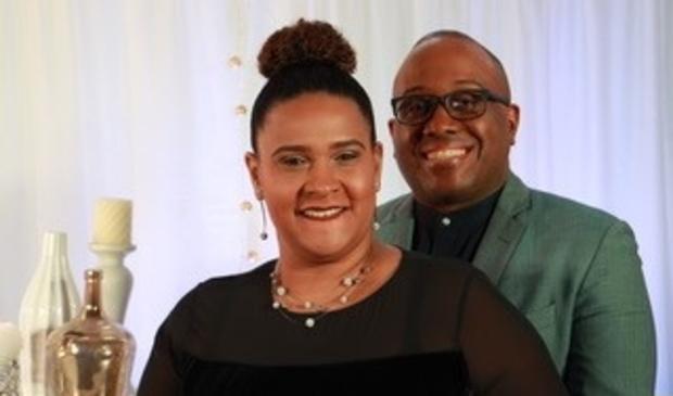 <p>De voorgangers Chesron en Juraima Richardson.</p>