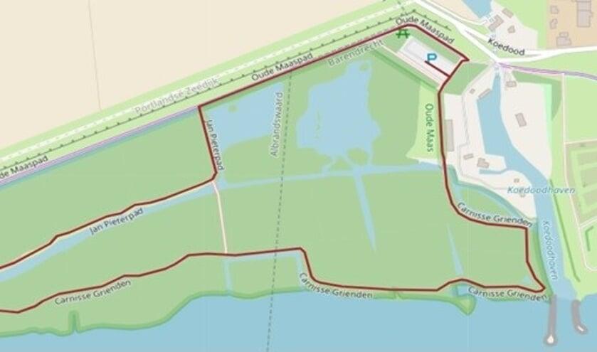 <p>Een wandelroute van 2,5 kilometer</p>