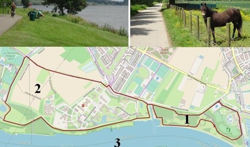 <p>Een goede startplaats (met parkeerplaats) voor de wandeling van 8 km is te vinden bij de Jachthaven van Rhoon; Havendam 23, 3161 XB Rhoon.</p>