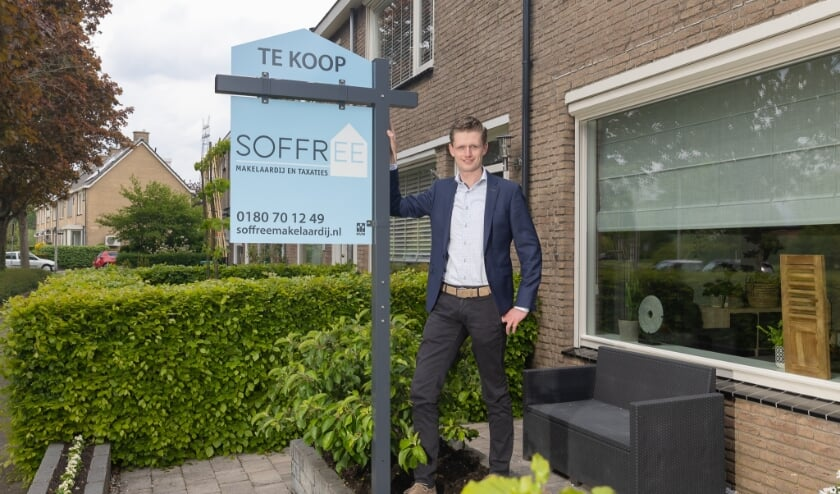 <p>Robert Soffree hoopt nu ook veel borden te kunnen zetten in Ridderkerk.</p>