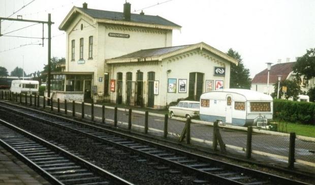 <p>Het eerste station van Barendrecht. </p>