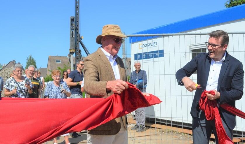 <p>Buurbelang-voorzitter Gert Koppen en wethouder Martin Oosterwijk gingen door het lint.&nbsp;</p>