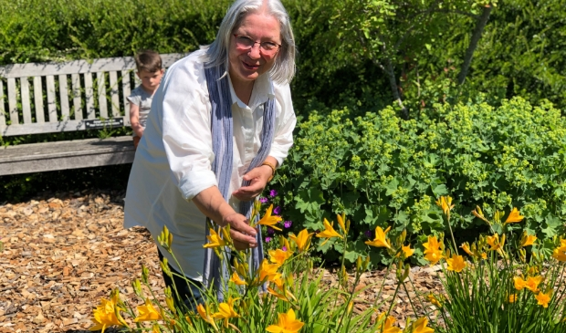 <p>Mieke Baan: &#39;Iedere dag zien de tuinen er anders uit&#39;.&nbsp;</p>