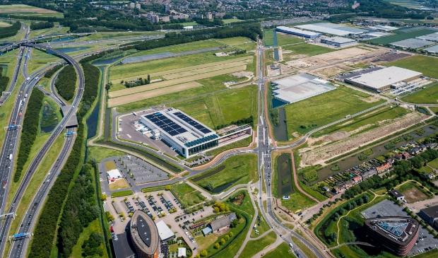 <p>Een recente luchtfoto van Nieuw Reijerwaard</p>