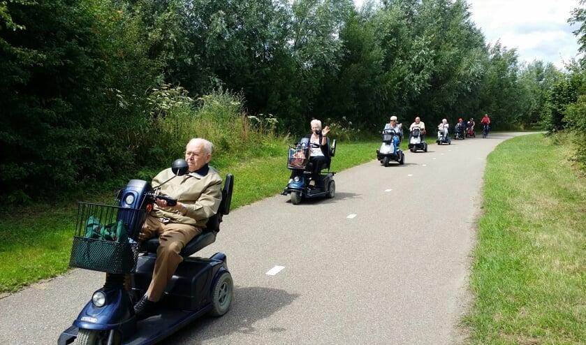 <p>Op 29 juli is er weer een scootmobieltocht vanuit Ridderkerk</p>