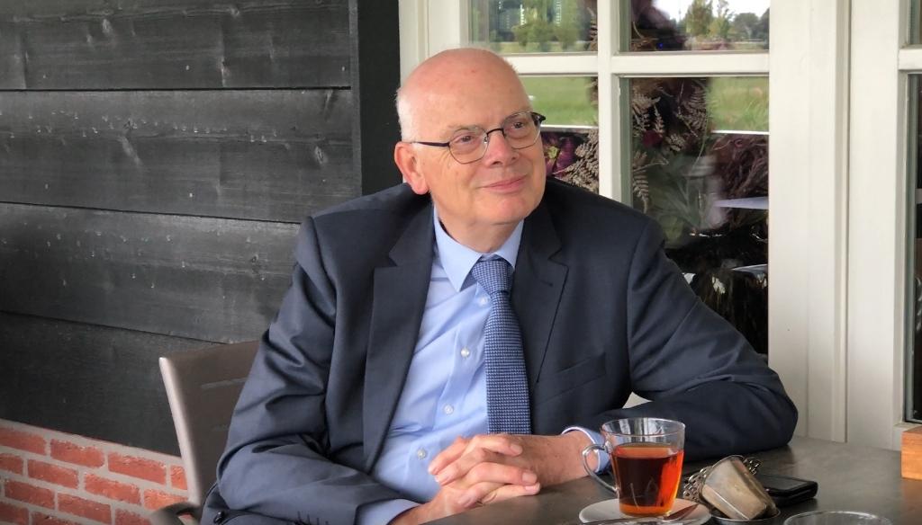 Burgemeester Jan van Belzen: 'Ik zie de Zuidpolder ieder jaar mooier worden'.   © BAR Lokale Media