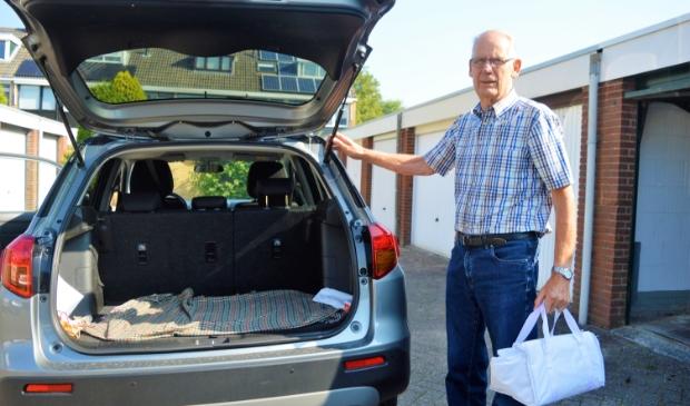 <p>Heiko Mulder bezorgt al 24 jaar maaltijden bij ouderen</p>
