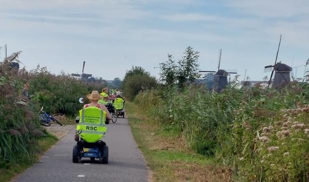 <p>De vorige tocht bracht de deelnemers naar Kinderdijk</p>
