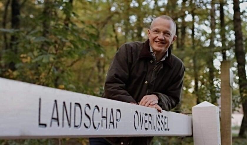 <p>Michael Sijbom, de nieuwe directeur van Landschap Overijssel. (Foto: PR)</p>