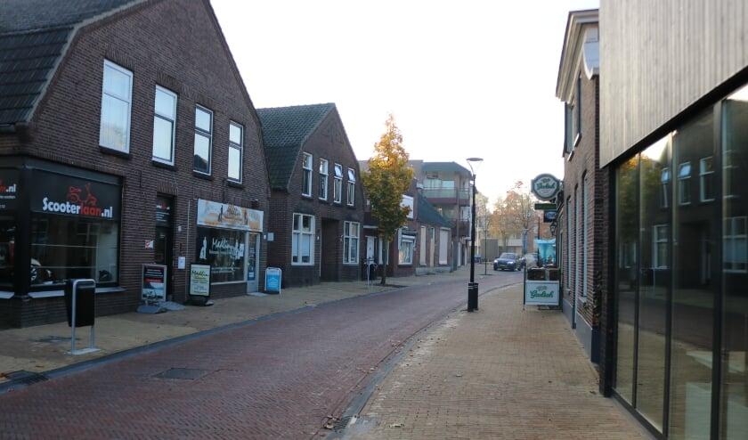 <p>Deel van de Enterstraat waarvoor de gemeente een plan maakt.</p>