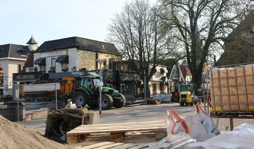 <p>De reconstructie van de Rijssense binnenstad is bijna af.</p>