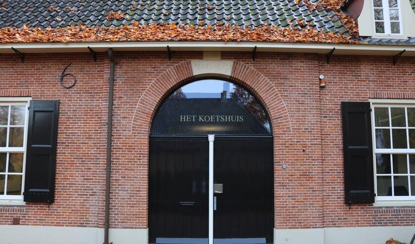 <p>Het eerste bouwhuis heeft zijn historische naam weer terug.</p>