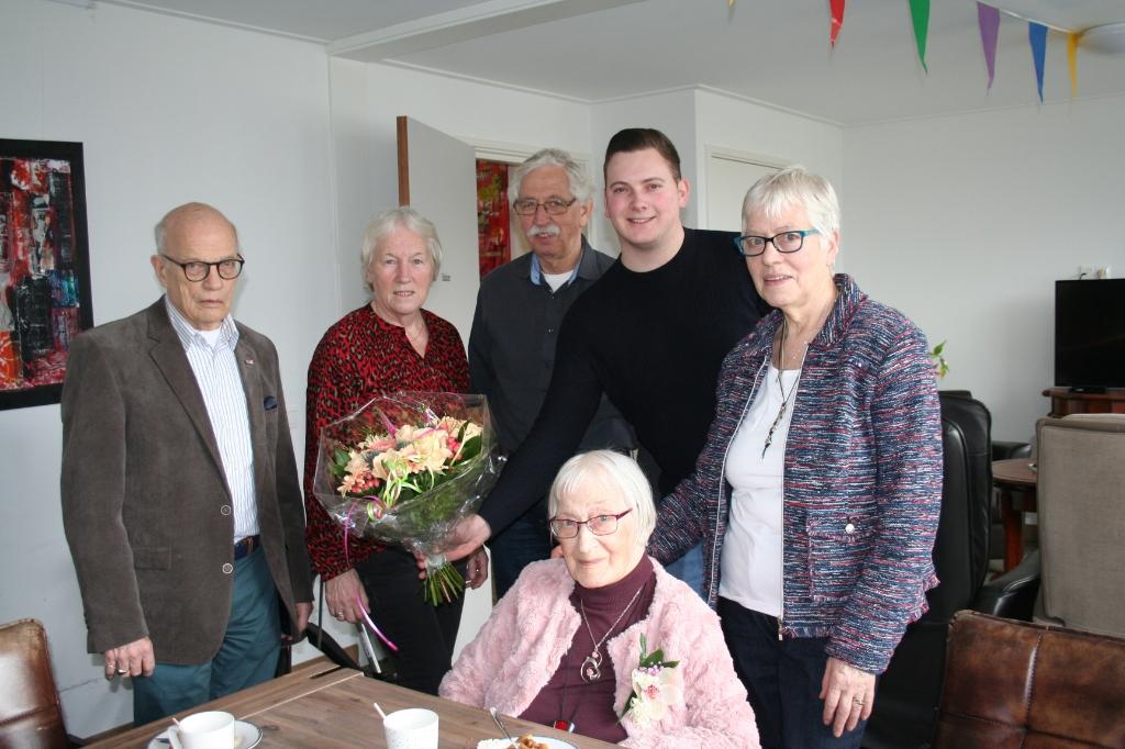 Miep de Vries viert 95e verjaardag  © DWF mediamakers