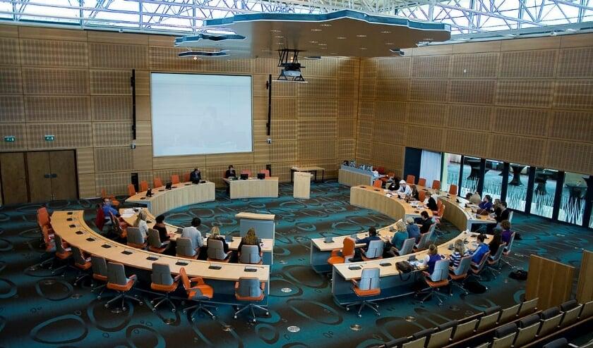 ZWOLLE - Provinciale Staten van Overijssel vergaderen in het Nedersaksisch.