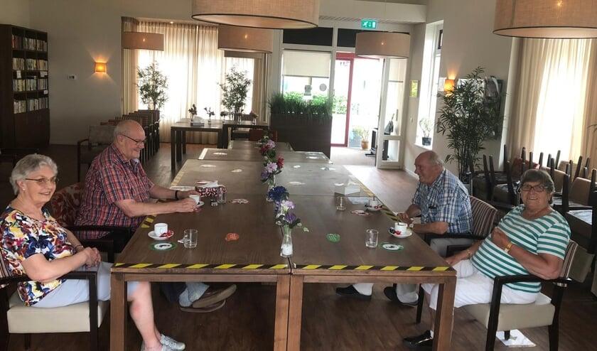 <p>&#39;t Oosterhoes: een gezellige ontmoetingsplek die hopelijk ook op langere termijn behouden kan blijven voor de gemeenschap van Wierden-Oost.</p>