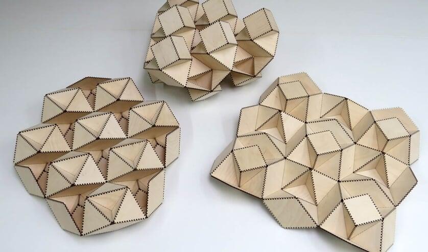 <p>Rinus Roelofs toont mathematische kunst bij TkkrLab.</p>