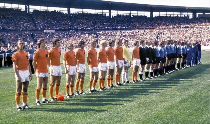 <p>Oranje op het WK in 1974. Foto; Cor Mooij.&nbsp;</p>