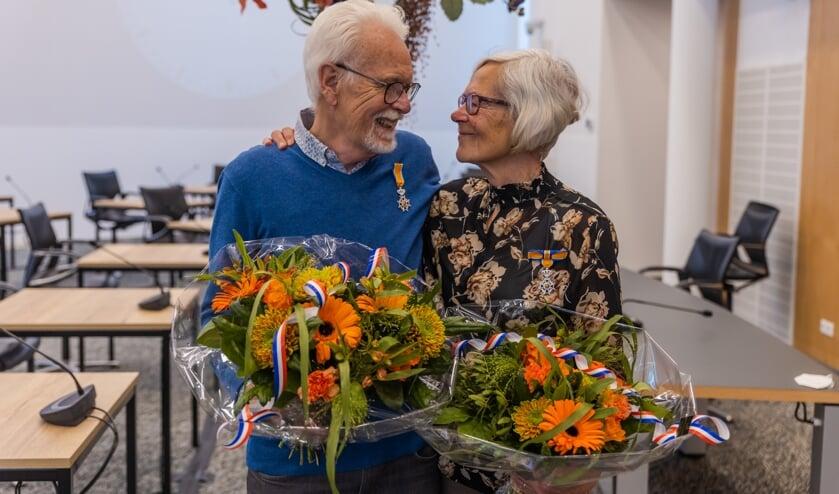 RIJSSEN - Piet en Jopie Klokkenburg kregen allebei een lintje.