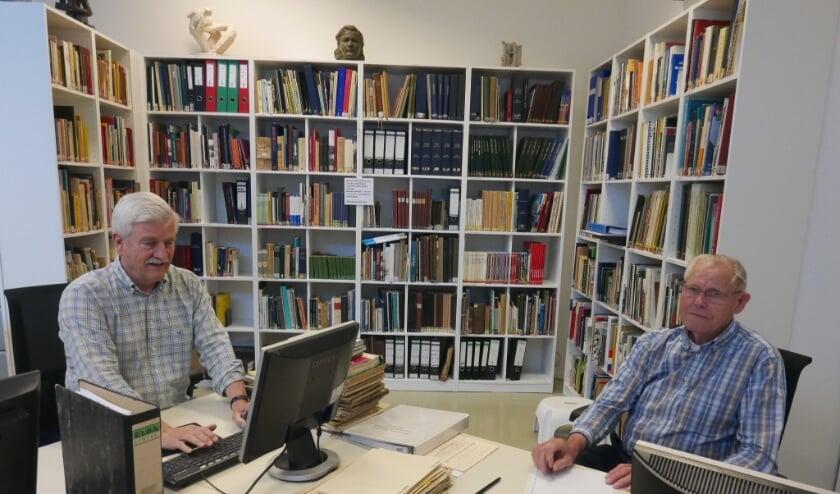 Bert Engelsman (links) en Gerrit Welberg