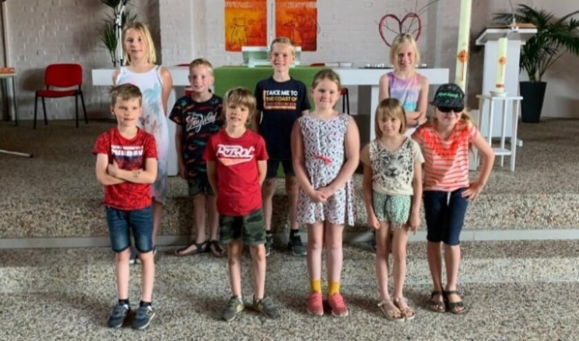 <p>Het kinderkoor Jong Vocaal Twente heeft lang gewacht, maar gaat eindelijk optreden.</p>