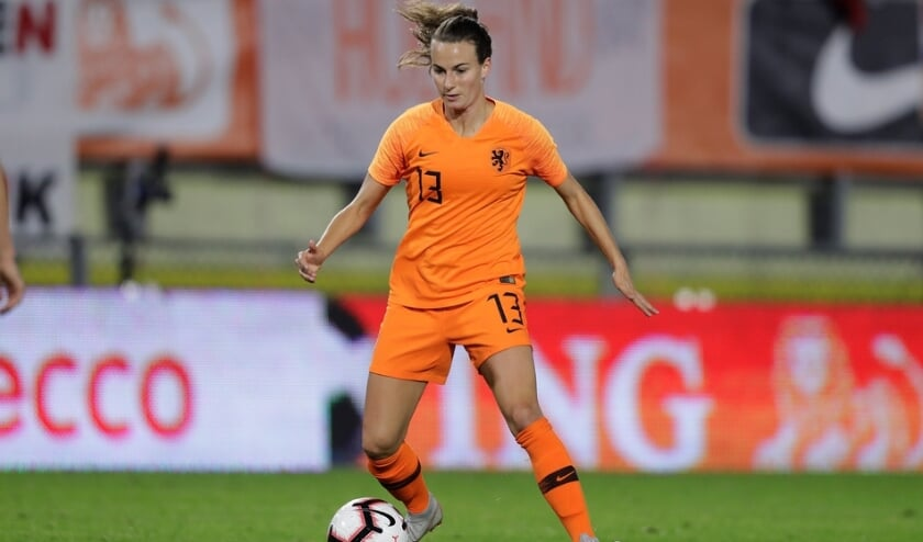 *Renate Jansen* of Holland Women