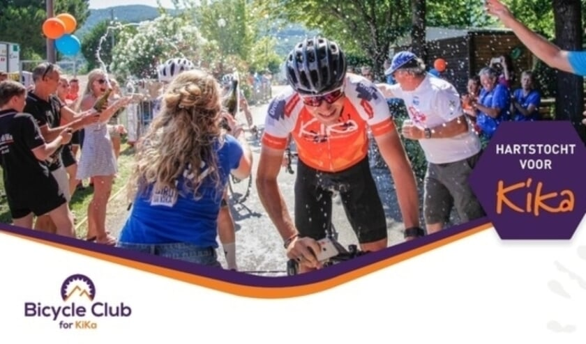 <p>Bicycle Club for KiKa uit Almelo organiseert fietstochten.</p>