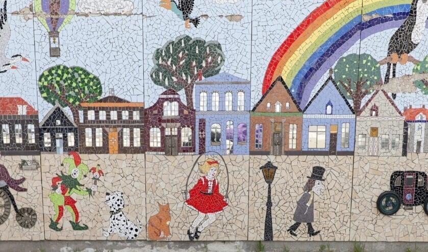 <p>Het moza&iuml;ek aan de Mans Kapbaargbrug is genomineerd voor de Buitenkunstverkiezing van Radio 4.</p><p><br></p>