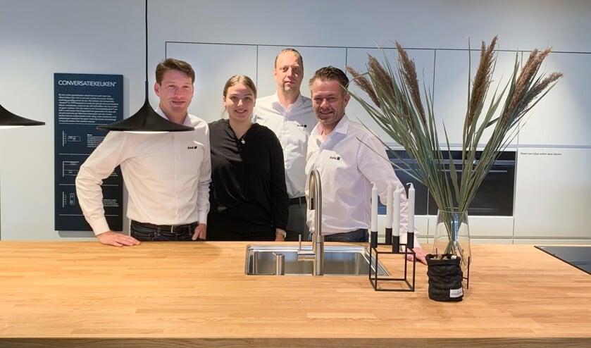 <p>Het team Kvik Enschede: Stefan Kiers, Nicole Knol, Marco Scherpenhuizen en Jan Willem Haasewinkel. (Foto: Kvik)</p>