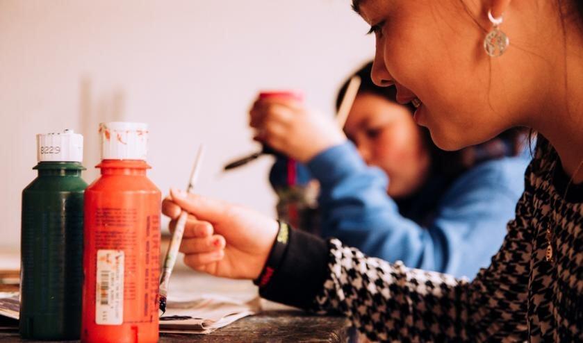 <p>Het Kinderatelier is meer dan alleen maar je creatief uitleven, je leert ook &lsquo;out-of-the-box&rsquo; te denken!</p>
