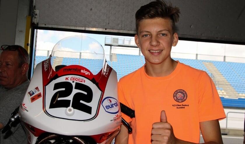 <p>Maik Duin is na de race op het TT Circuit Assen kampioenschapsleider.&nbsp;</p>