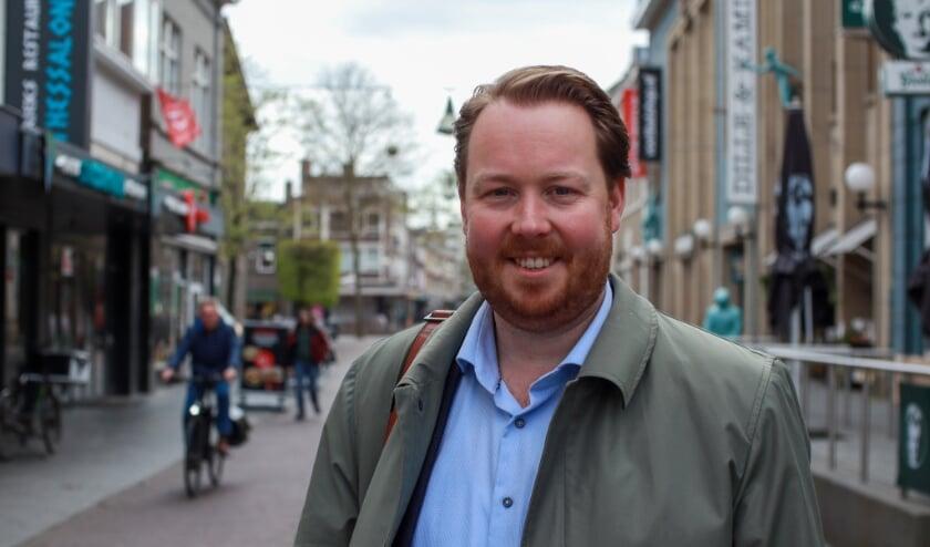<p>Jeroen Diepemaat wordt lijsttrekker van de VVD in Enschede.</p>