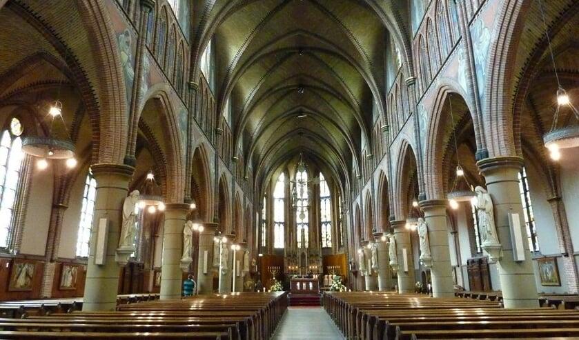 <p>De Josephkerk doet mee aan Open Monumentendag. (Foto: Secil Arda)</p>
