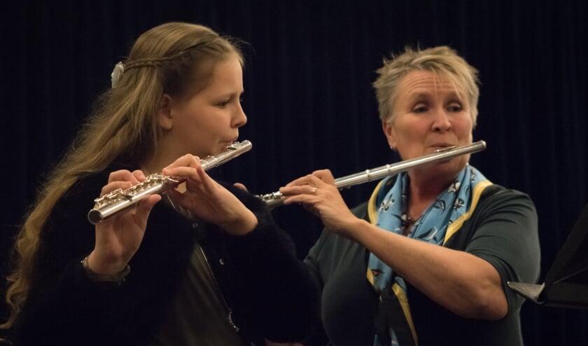<p>Marion Rohaan 40 jaar in dienst bij muziekschool.</p>