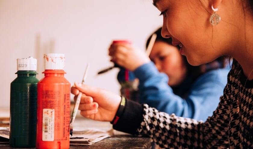 <p>Er is van alles te doen tijdens het open huis van Kaliber Kunstenschool in Wierden.</p>
