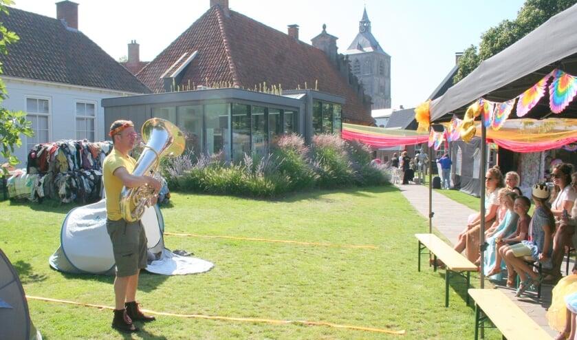 <p>De jeugd genoot zondag volop van het gezellige en vrolijke Paltival in de tuin van het Palthe Huis.</p>