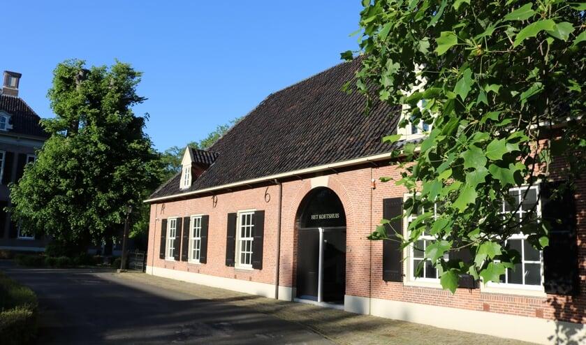<p>Ook het Koetshuis van kasteel de Oosterhof is op Open Monumentendag te bezichtigen.</p>