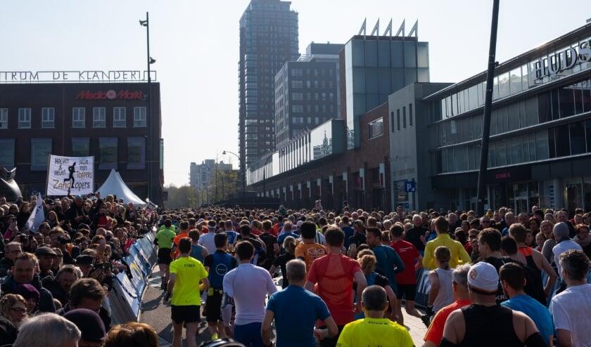 <p>De Marathon Enschede is volgend jaar op 24 april.</p>